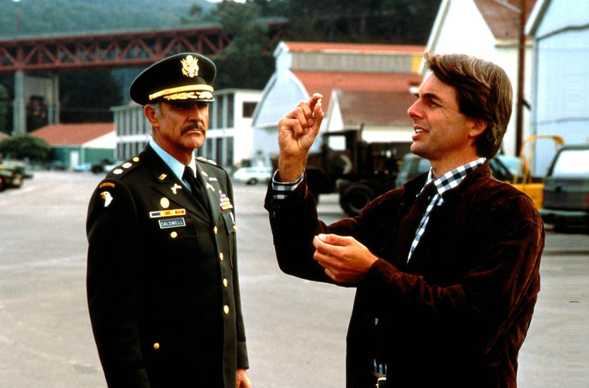 mark harmon starred with sean connery in 1988's the presidio