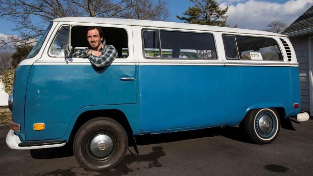 kyle cropsey new van paint job