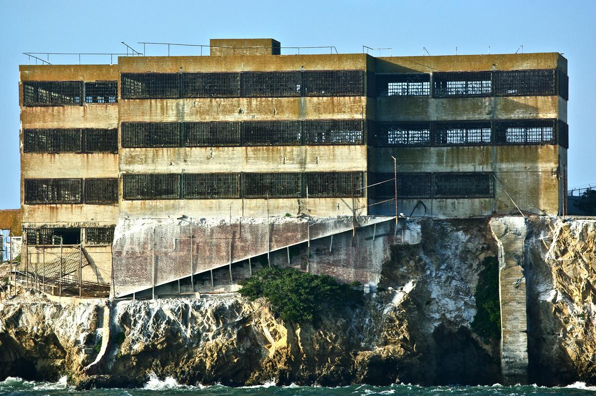 exterior of prison