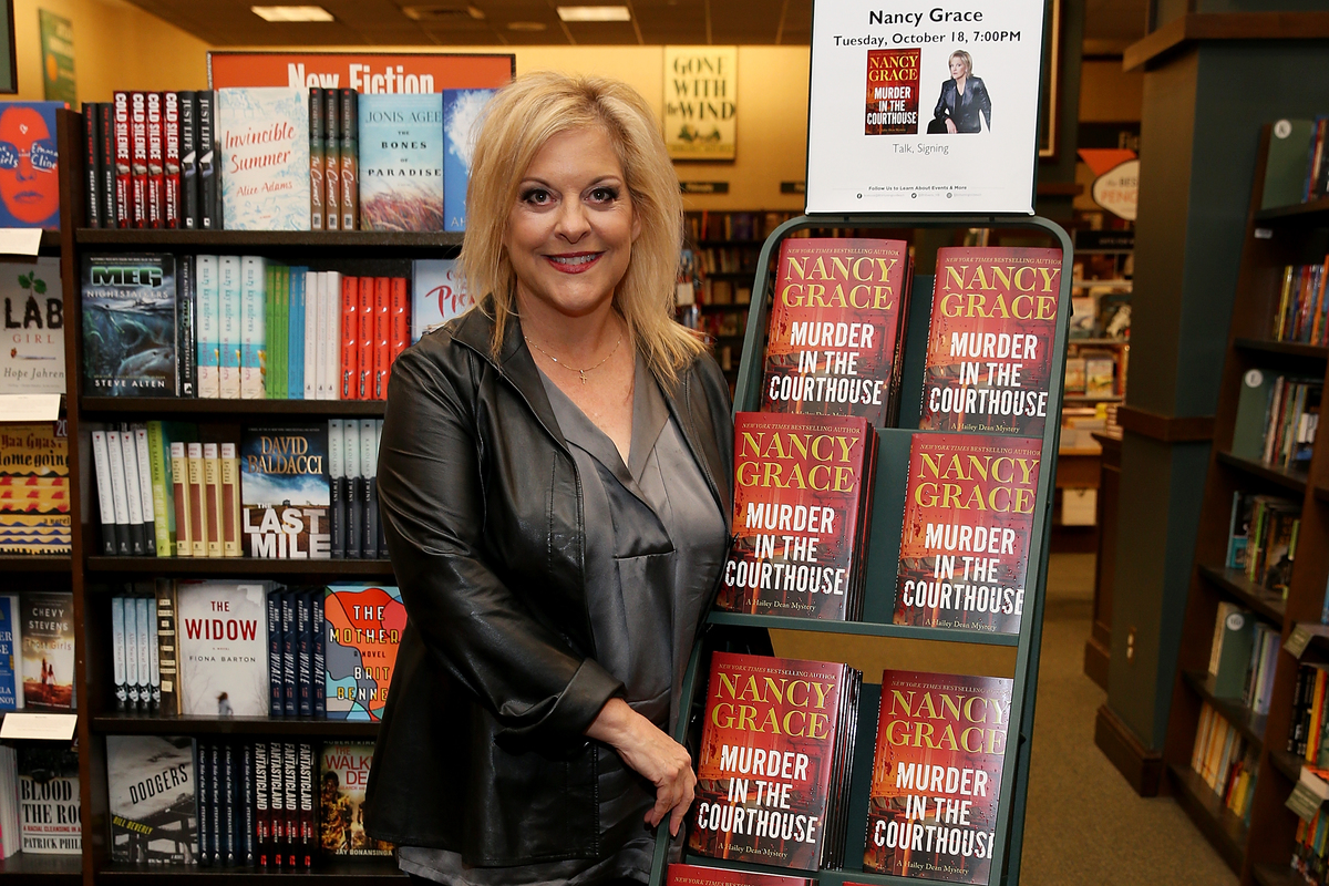 Nancy Grace Book Signing For