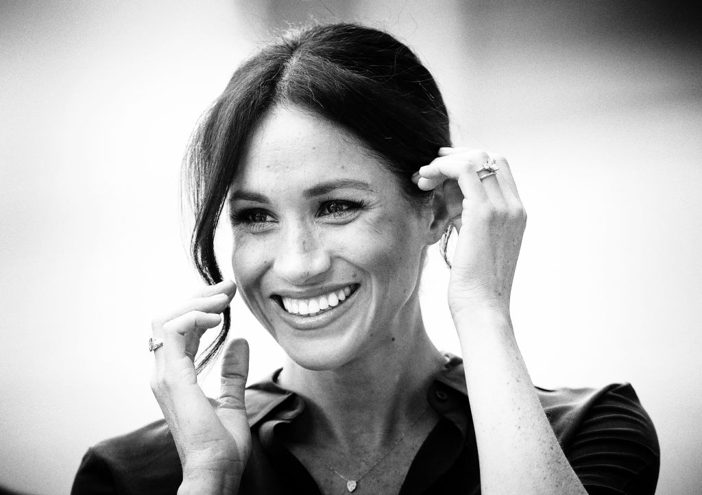 GettyImages-1049292496 Meghan, Duchess of Sussex visits the University of Chichester's Engineering and Technology Park