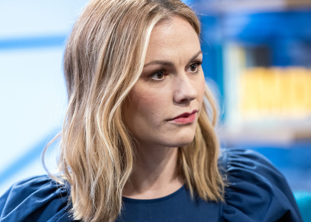 STUDIO CITY, CALIFORNIA - FEBRUARY 26: Actress Anna Paquin visits 'The IMDb Show' on February 26, 2019 in Studio City, California. This episode of 'The IMDb Show' airs on March 7, 2019-1134152605