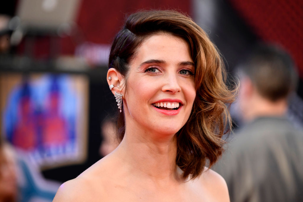 Cobie Smulders attends the Premiere Of Sony Pictures'