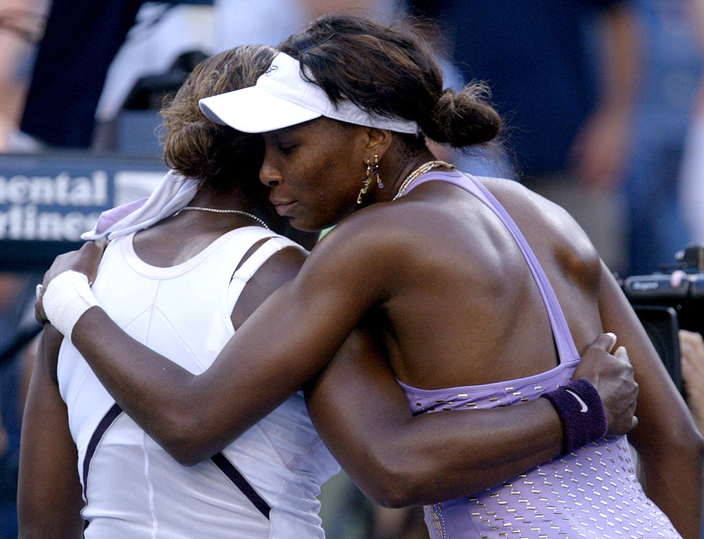 GettyImages-118797834 Venus Williams defeats sister, Serena Williams 7-6 (5), 6-2 in the fourth round of the US Open