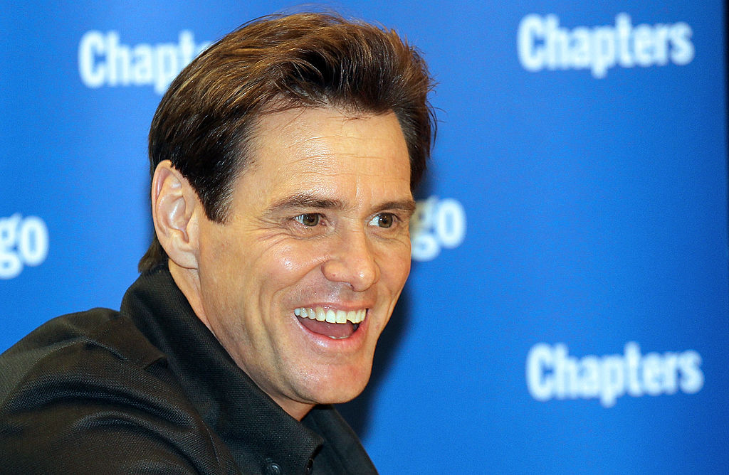 Jim Carrey book signing for