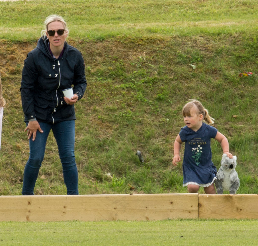 GettyImages-694917816 zara Tindal and Mia Tindall at The Maserati Royal Polo Trophy match during The Gloucestershire Festival of Polo at Beaufort Polo Club