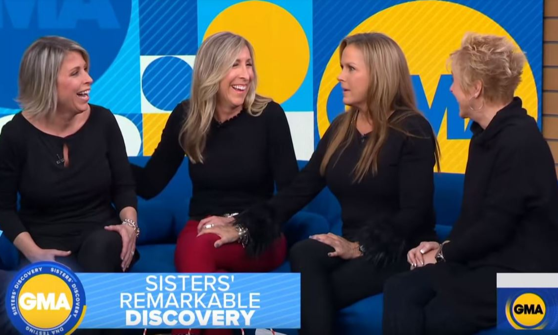 The four sisters reunited on Good Morning America