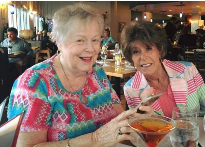 The twins' biological aunt, Sue Hall, and biological mother, Janice Holley