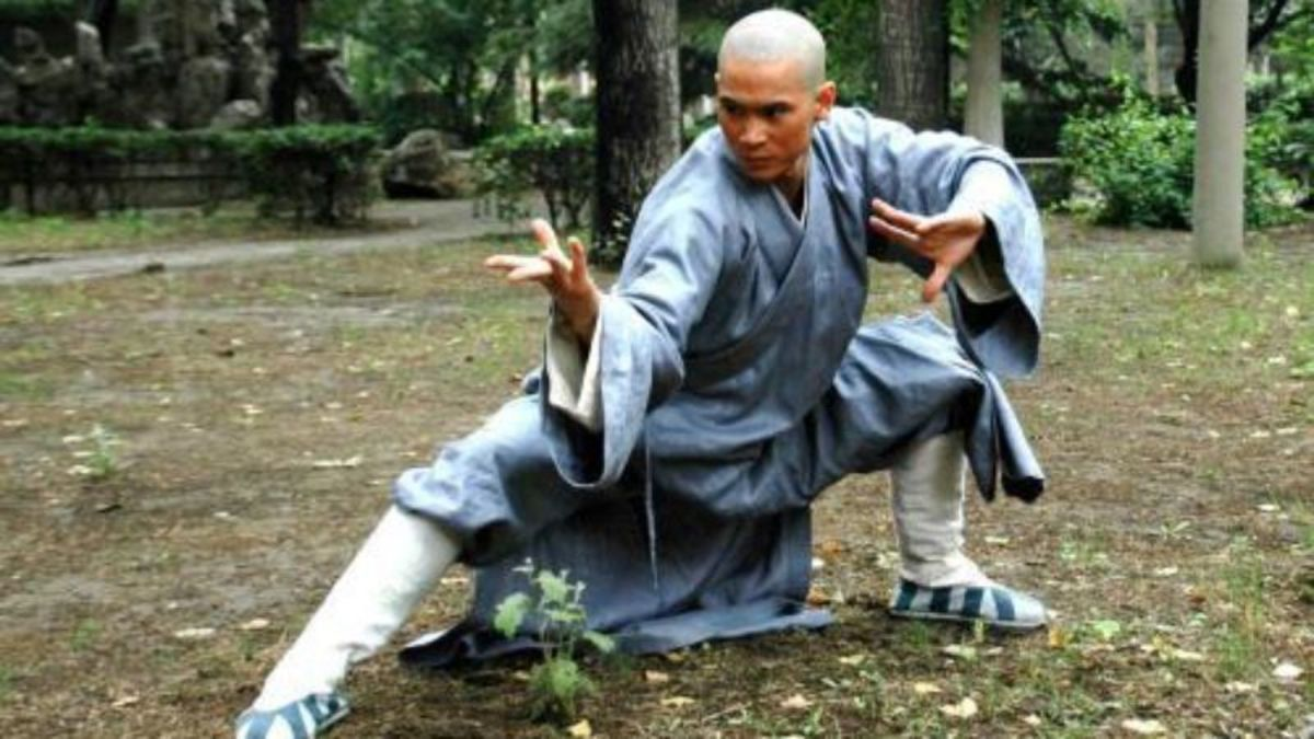 the shaolin temple as jet li's film debut