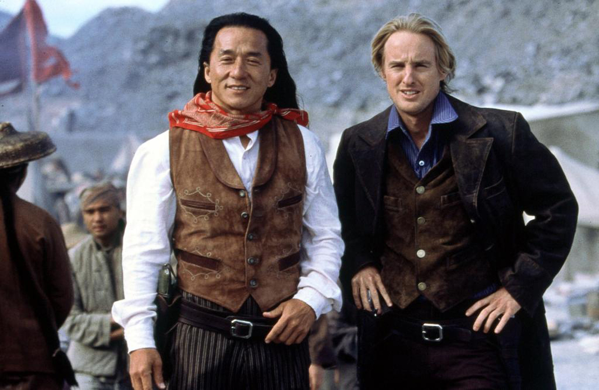 jackie chan and owen wilson in shanghai noon