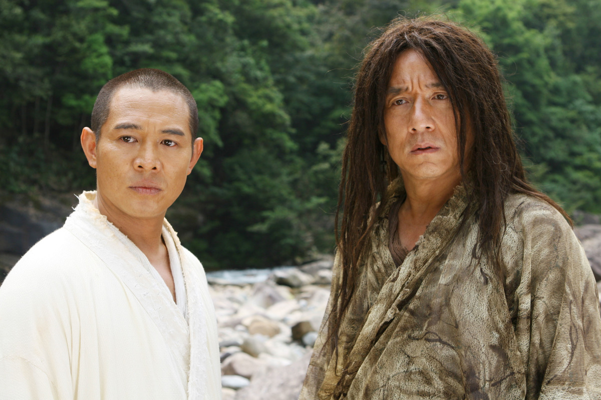 the forbidden kingdom movie jackie chan jet li