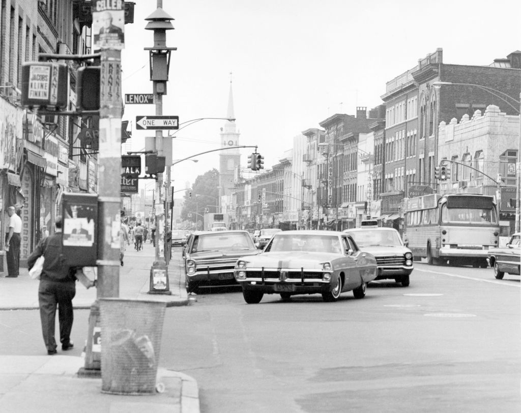 Street in Brooklyn 1960s