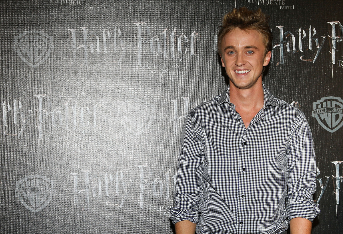 Tom Felton at Deathly Hallows Part 1 premiere in Mexico 2010
