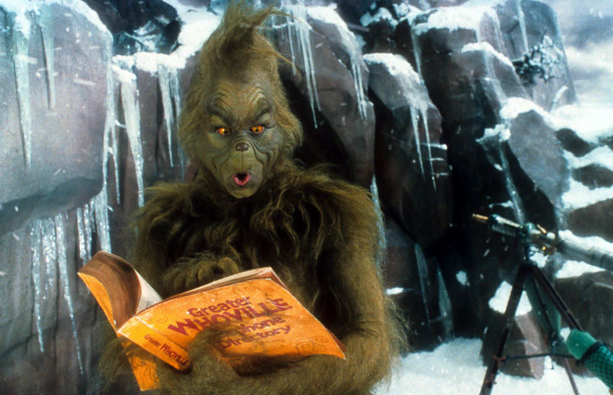 a scene from 2000's the grinch, played by jim carrey