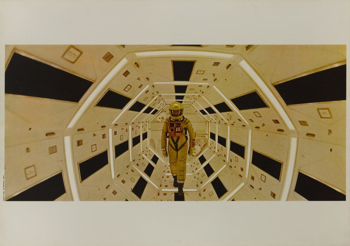 movie still from Kubrick's a space odyssey