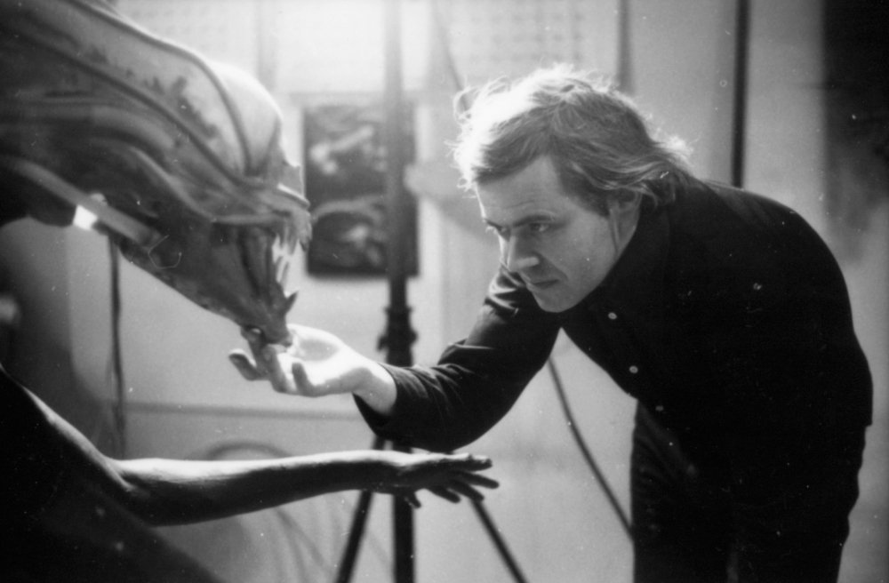 hr giger was detained at LAX with his alien designs