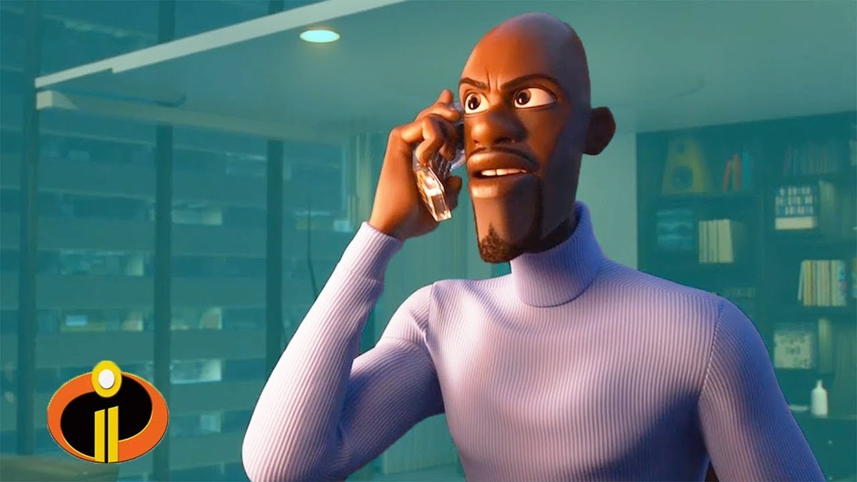 Frozone in the incredibles 2