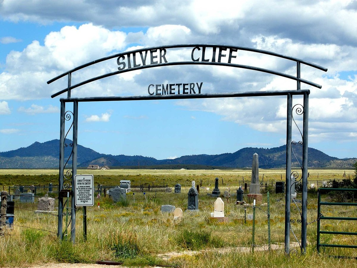 silver cliff cemetery most haunted places