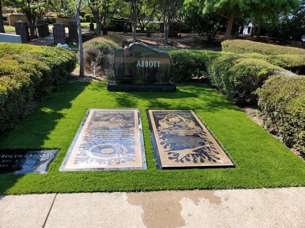 Abbott brothers' gravesite