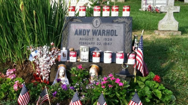 Andy Warhol Tombstone