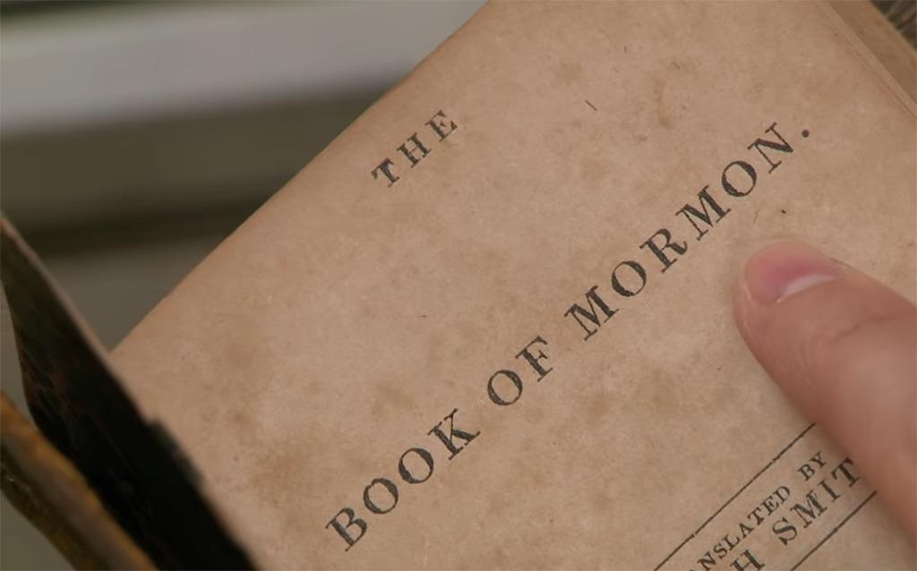 Examining the book