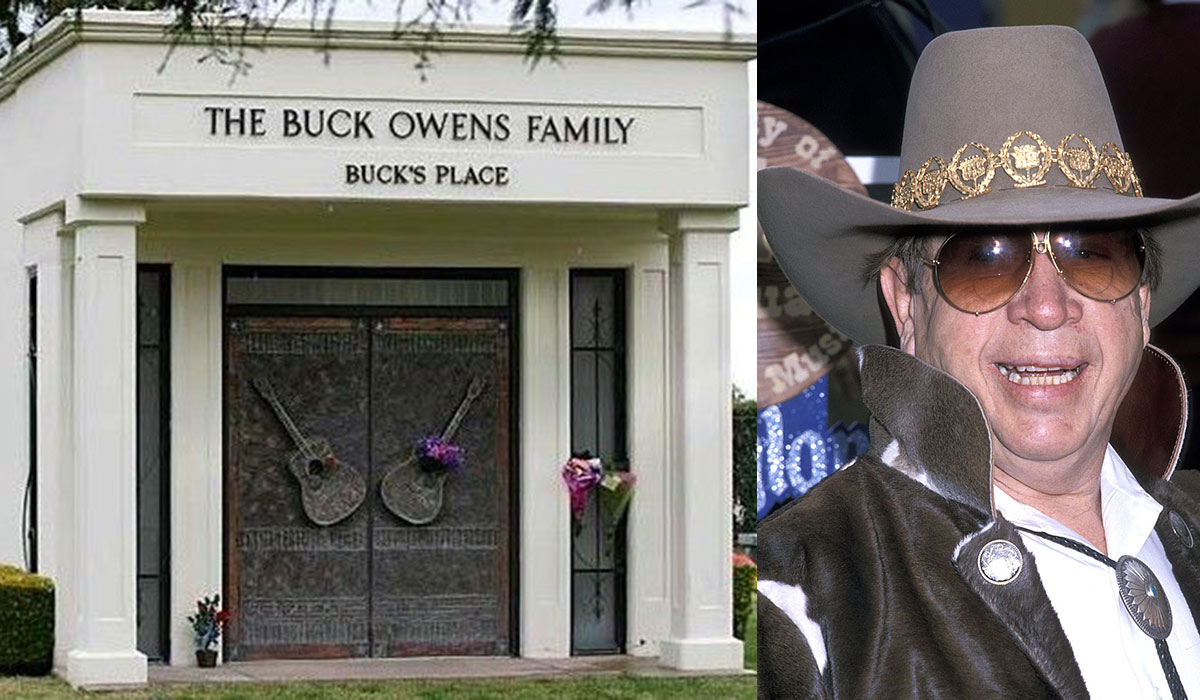 Buck Owens final resting place