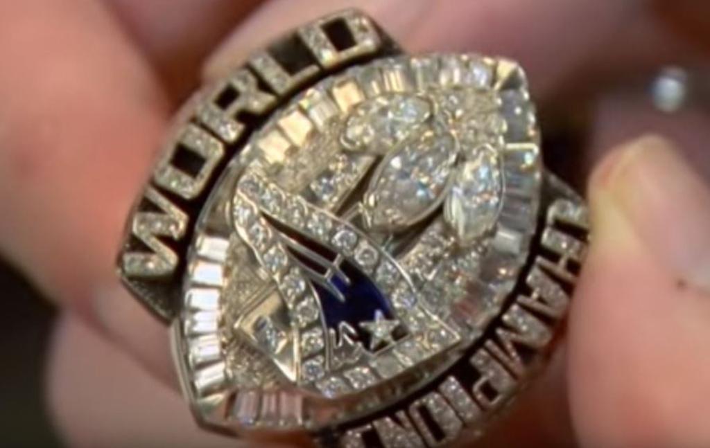 Patriots superbowl ring