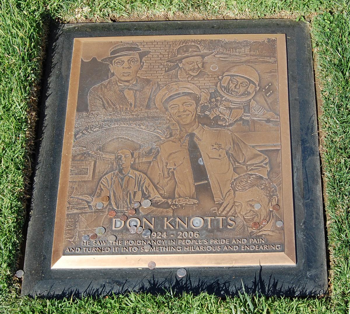 Don Knotts headstone