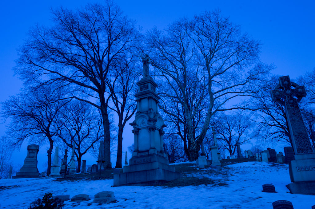 greenwood cemetery haunted locations