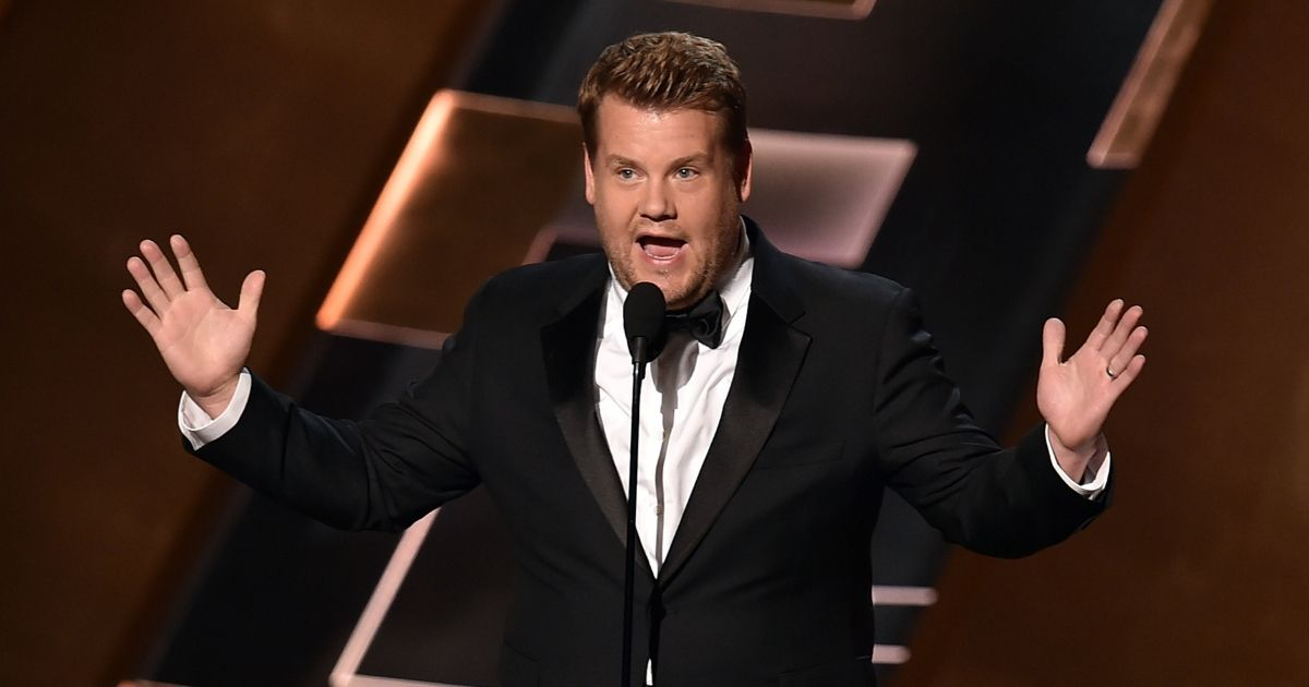 James Corden speaks onstage during the 67th Annual Primetime Emmy Awards