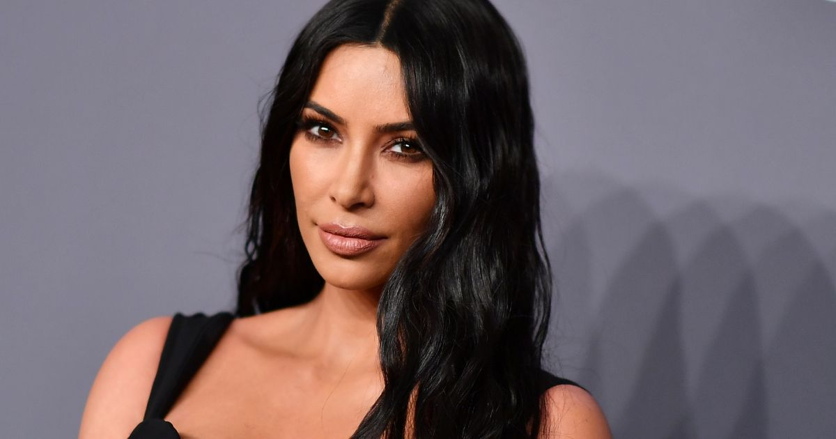Kim Kardashian West arrives to attend the amfAR Gala New York