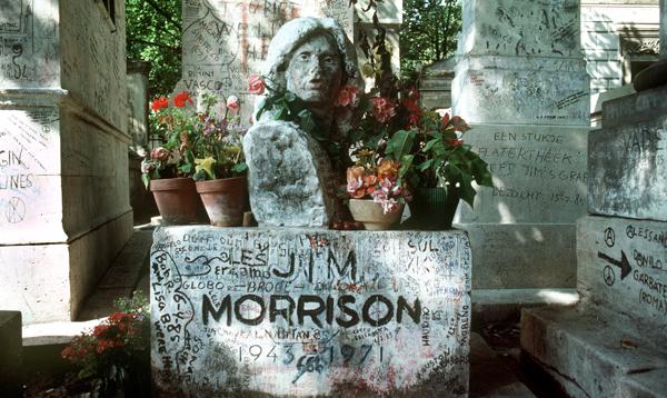 jim Morrison Tombstone