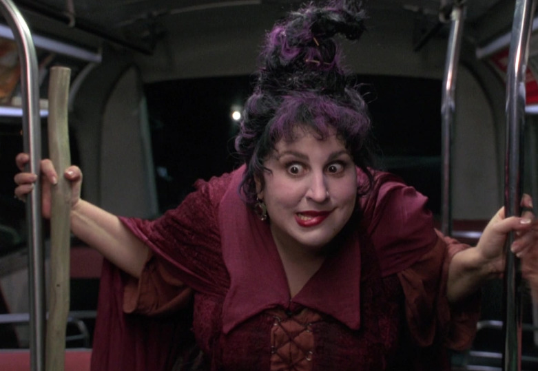 Kathy Najimy was not the first choice for Mary Sanderson