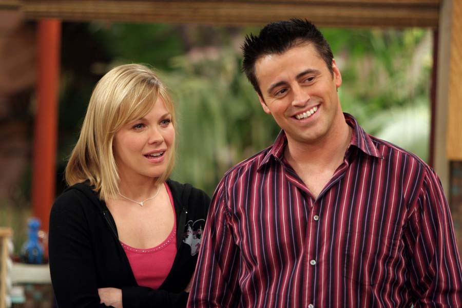 Matt LeBlanc reprised his role as Joey Tribbiani in the Friends spin-off Joey,