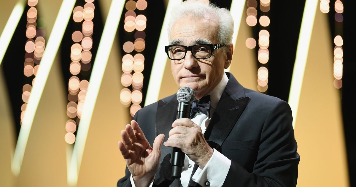 Director Martin Scorsese speaks onstage at the Opening Ceremony during the 71st annual Cannes Film Festival at Palais des Festivals on May 8, 2018