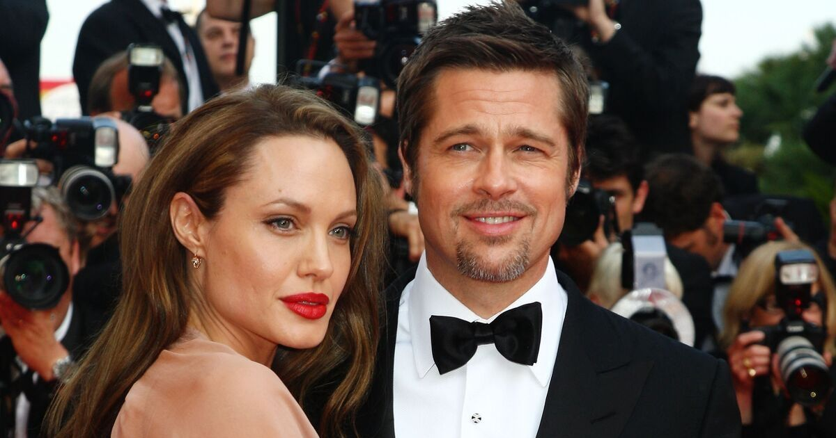 Brad Pitt and Angelina Jolie attend the Inglourious Basterds Premiere in 2009