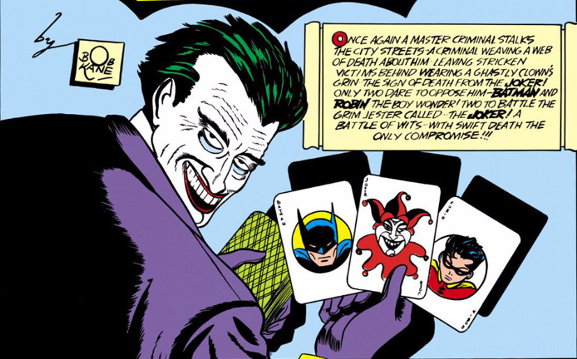 the first iteration of the joker