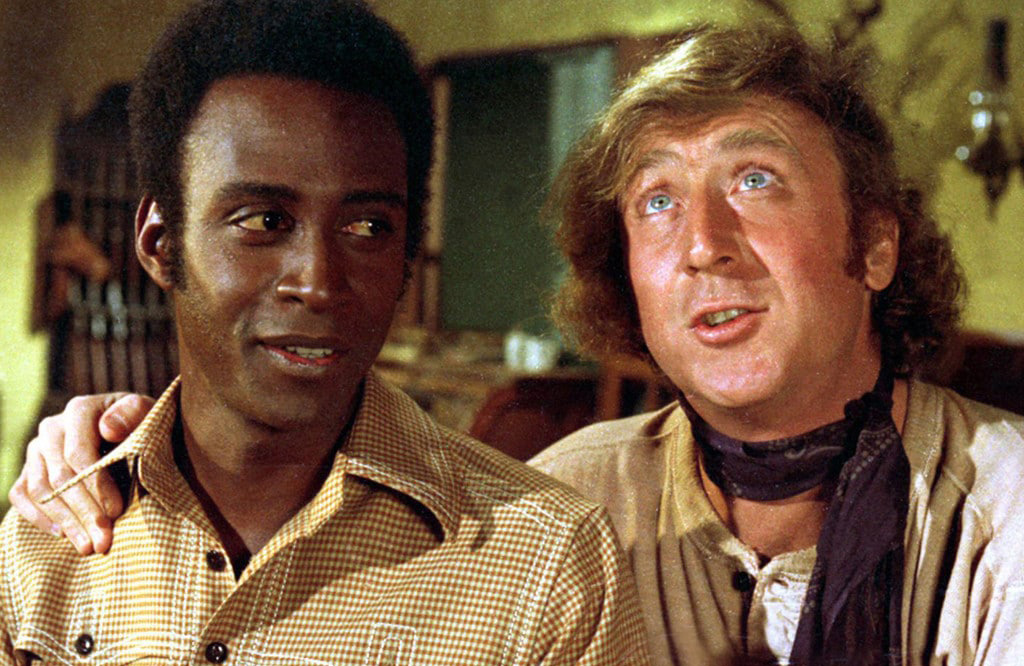 Sheriff and Waco Kid in Blazing Saddles