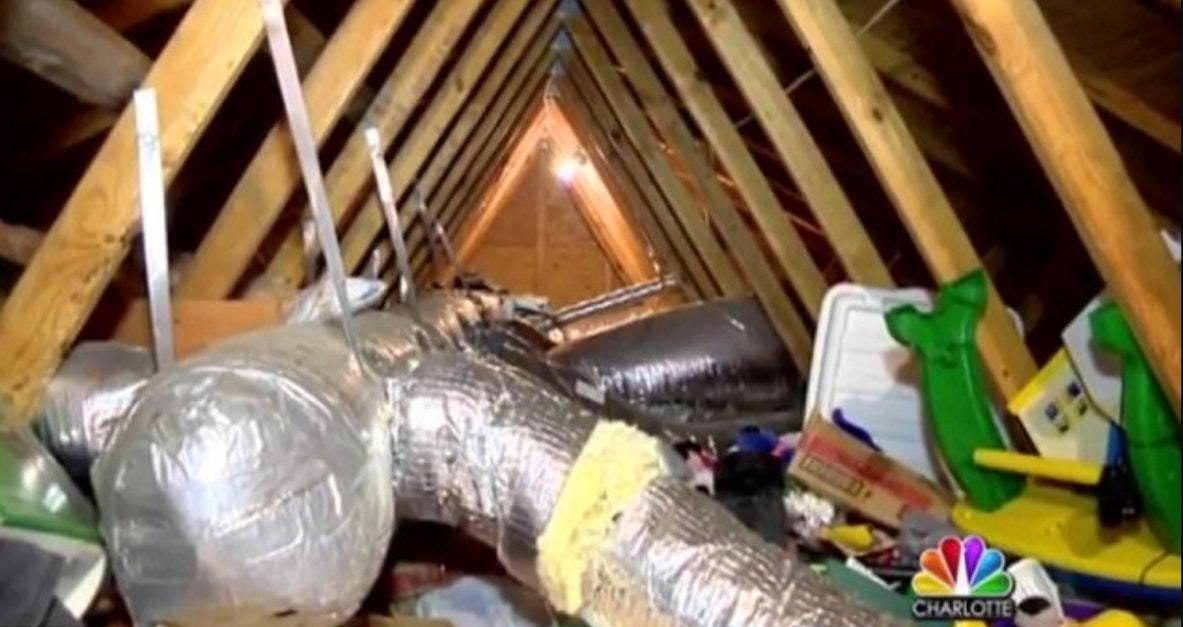 They Found The Attic In A Bad State
