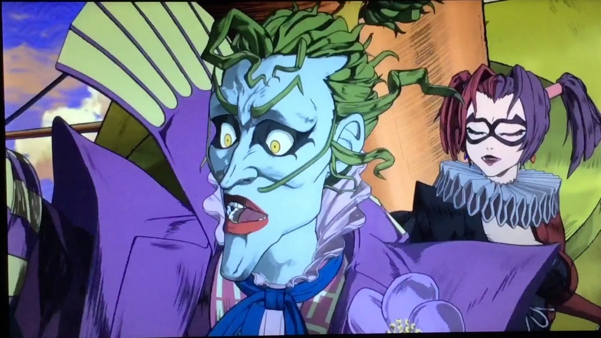 the joker from batman ninja