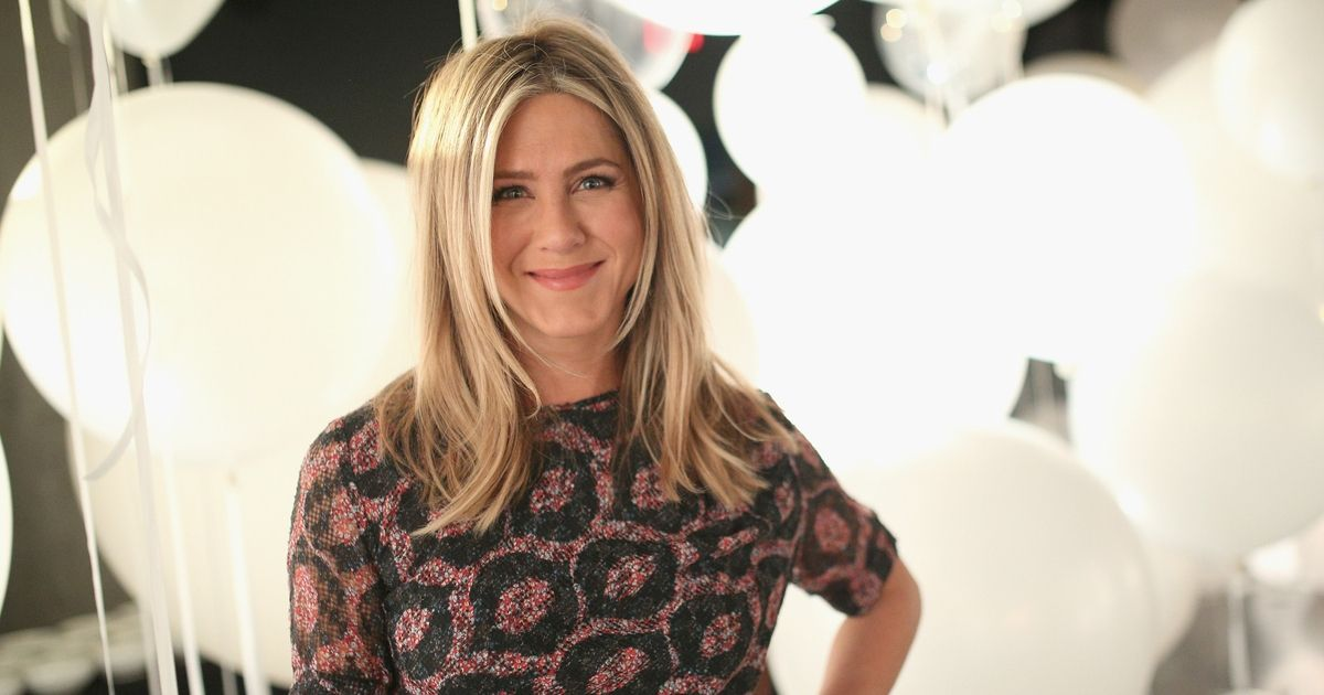 Actress Jennifer Aniston poses for a photo at a Smartwater event in 2016