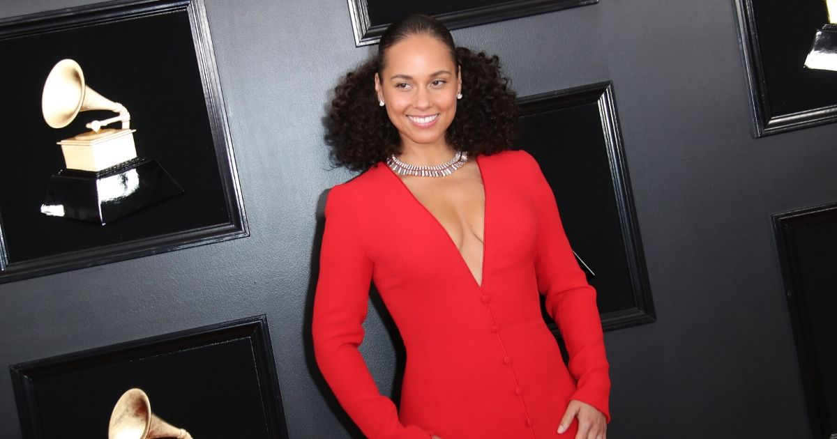 Alicia Keys attends the 61st Annual GRAMMY Awards in 2019