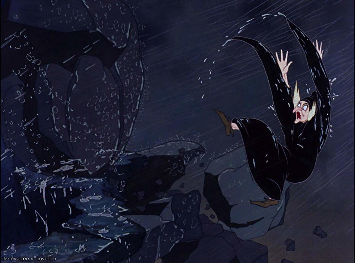 The OG Disney Death: Evil Queen From Snow White