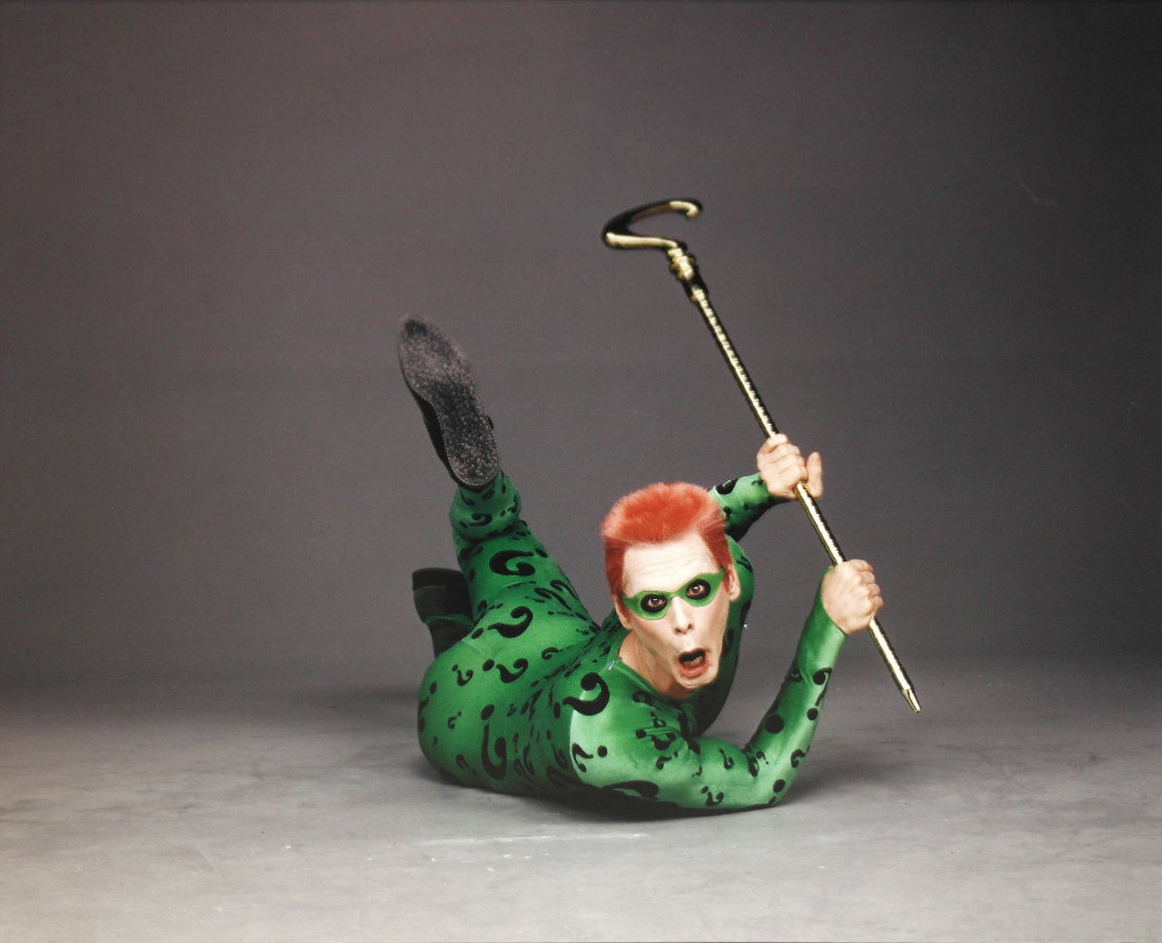Jim Carrey's Riddler Was More Like Ace Ventura On Speed