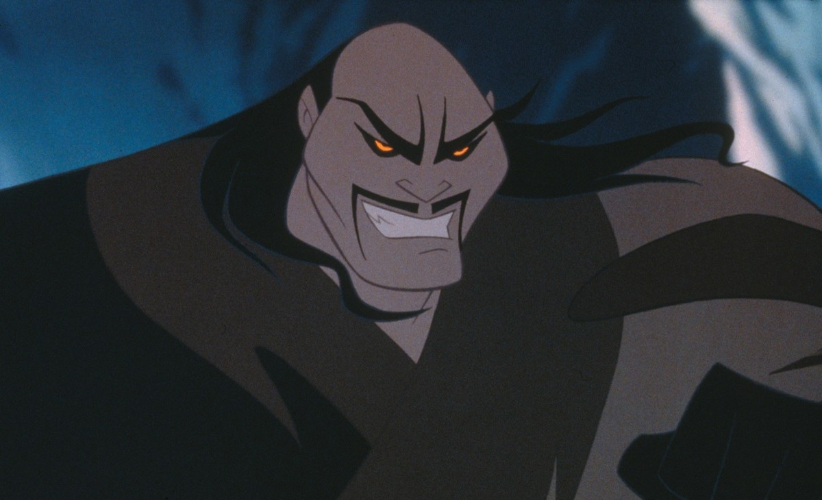 Mulan's Shan Yu Was Evil To His Core