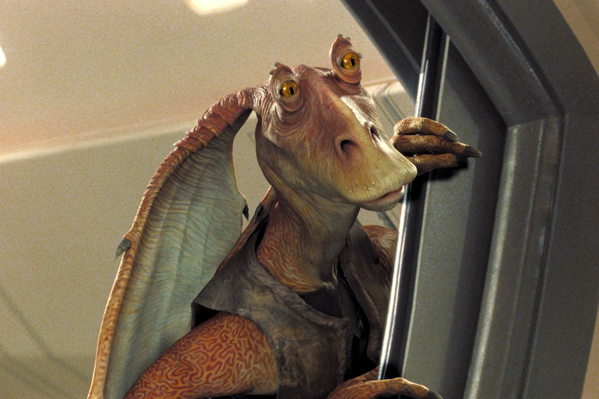 Jar Jar Binks Is A Character That Shouldn't Have Happened