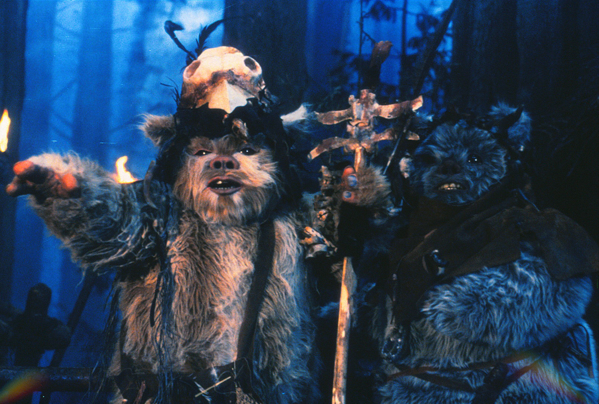 The Ewoks Might Be Cute But They're Beyond Annoying