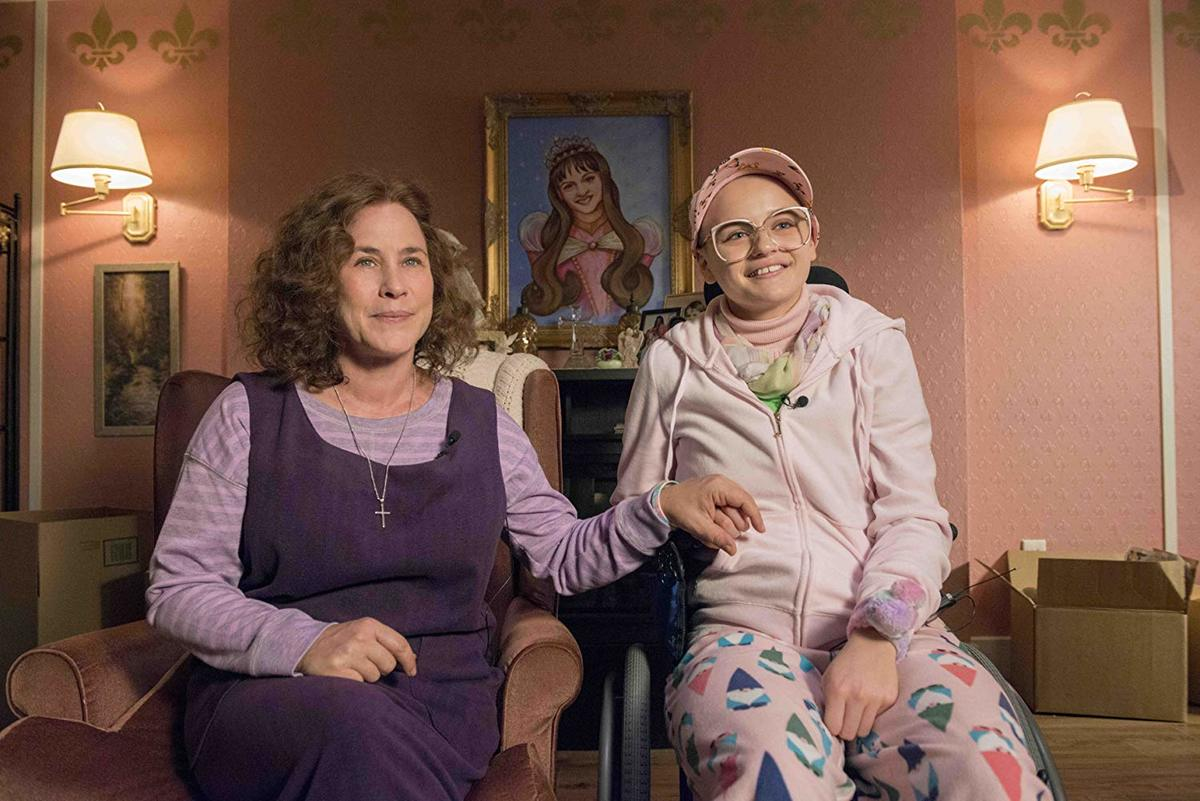 Patricia Arquette and Joey King as dee dee and gypsy rose blanchard