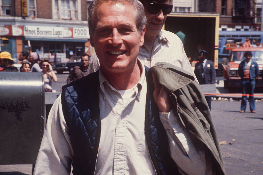 Newman on a movie set