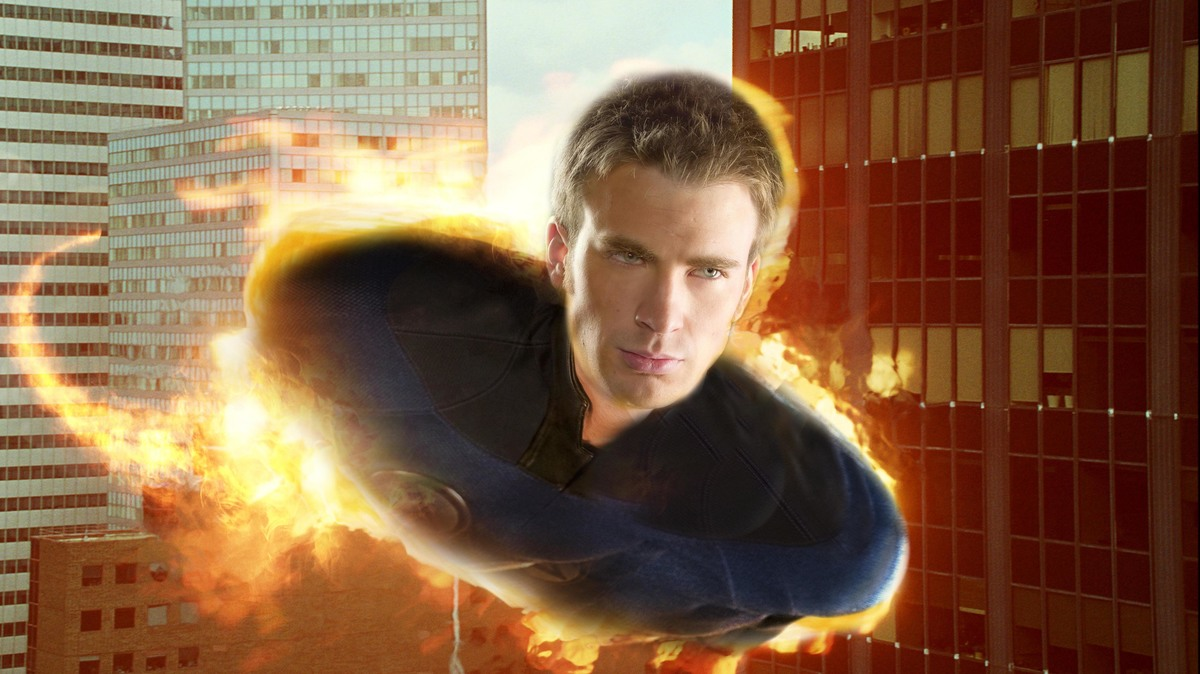Johnny Storm Though He Was James Bond In The Fantastic 4